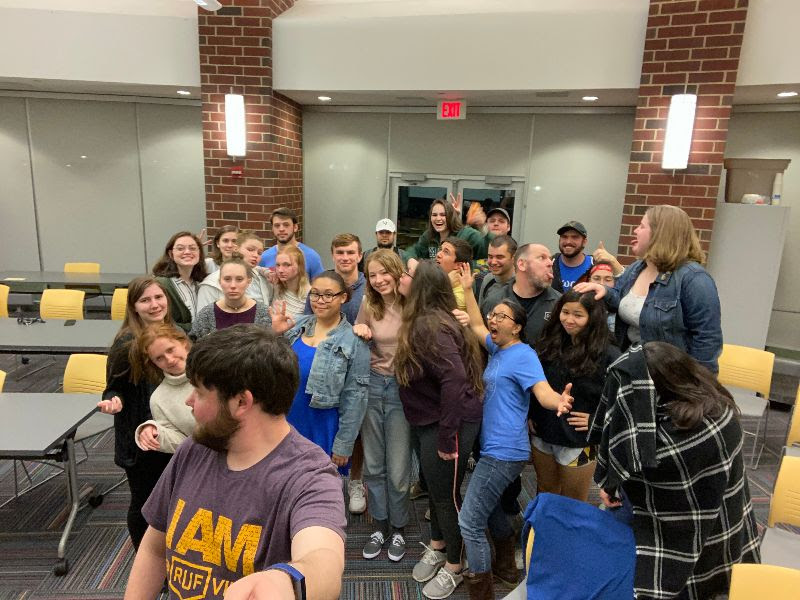 Last Large Group at Millersville 2019-2020