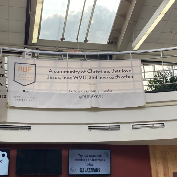 Our banner at Mountainlair
